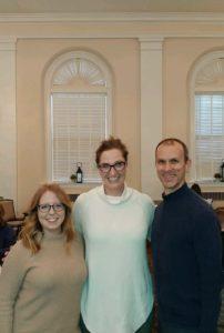 Veronica DeAngelo, Abby Martin and Chris McLean