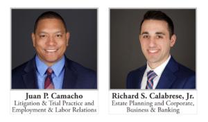 Juan P. Camacho and Rick Calabrese
