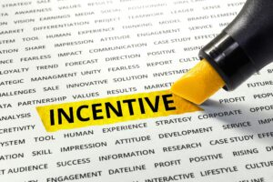 Word Incentive Highlighted