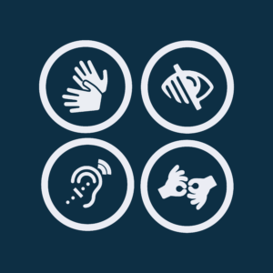 Sign language icon, blind icon.deaf icon.disabled icon, Web Application Icons, Accessibility Icon