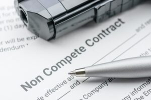 Noncompete agreement photo