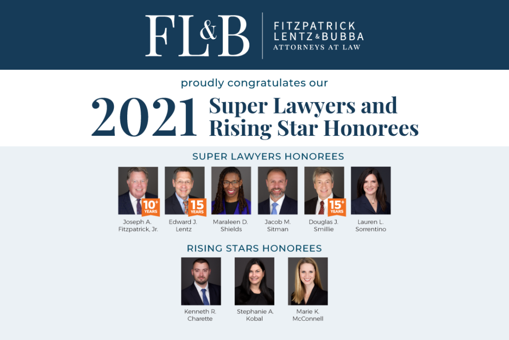 Image of attorneys who were named to the 2021 SuperLawers Lists