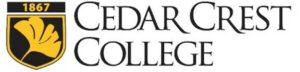 Cedar Crest College, in a stylized Logo